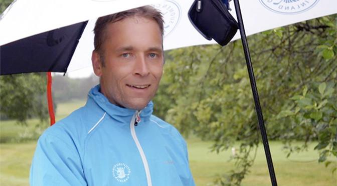Tero Peltola valittiin vuoden 2013 vammaisgolfariksi